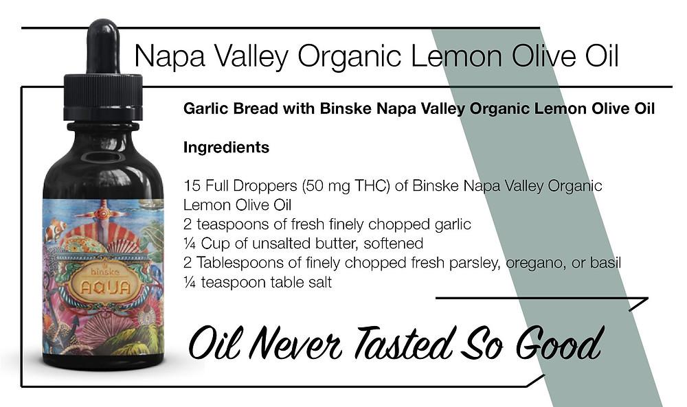 Binske Cannabis infused Olive Oil