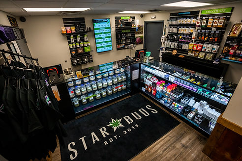 Star Buds Pueblo East Sales Floor