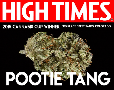 high times cannabis cup winner 2015 best sativa, pootie tang