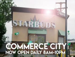 Starbuds Commerce City NOW OPEN!