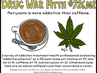 Is Coffee better for you than Cannabis?