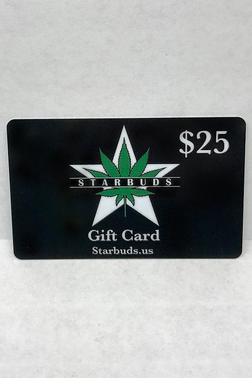 Starbuds Gift Card