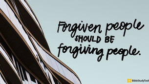 Forgiveness, It's A Way Of Life, March 28th