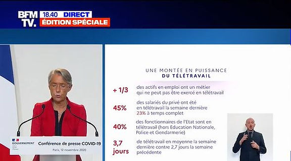 Covid-19 point presse gouvernement 12 no