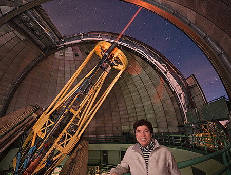 CLAIRE MAX RECOGNIZED FOR ASTRONOMICAL INSTRUMENTATION