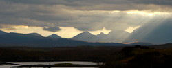 View of the cuillins