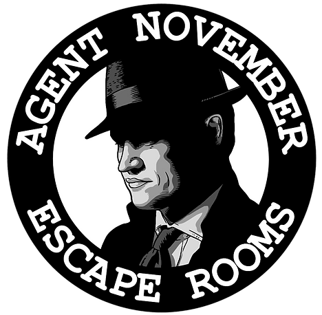 Agent November Escape Rooms Logo (Circul