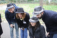 A team of field agents investigate Major X Ploe-Shun