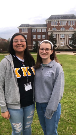 Brother Jasmine with Sister Emmalee at Southeast District Leadership Conference
