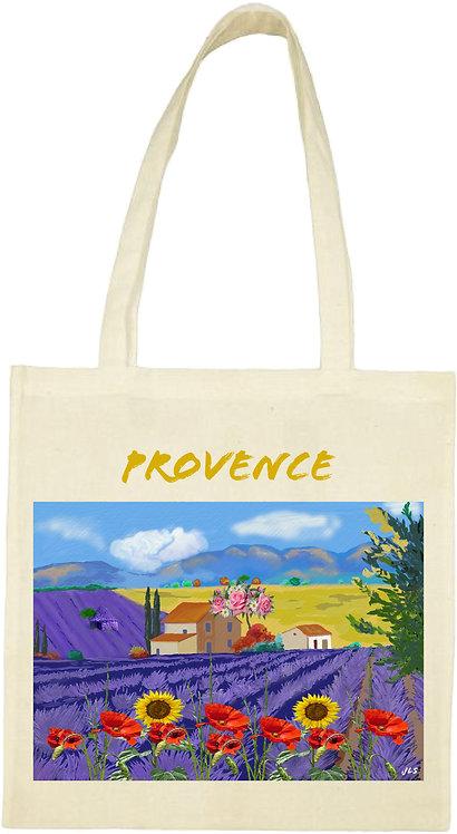 tot bag paysage de Provence