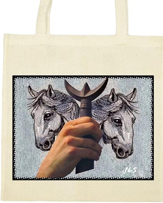 tot bag trident chevaux