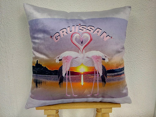 coussin flamant rose gruissan muriel-m