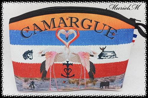 trousse arrondie flamant Camargue France