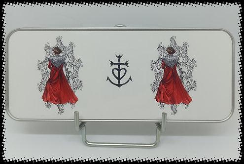 boite métal arlésienne rouge mandala muriel-m