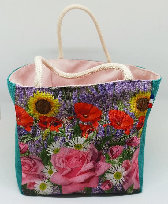 pochon range tout  bouquet de Provence