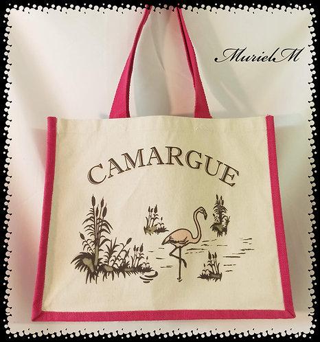 sac cabas illustration Camargue