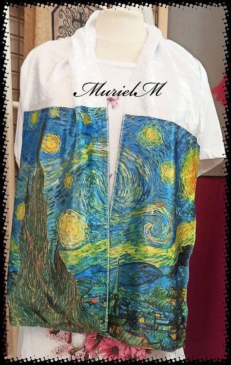 écharpe la nuit étoilée van Gogh