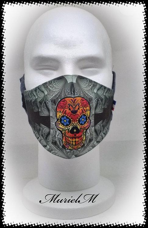 Masque Tête de Mort muriel-m