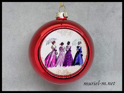 Boule de Noël4 Arlésiennes