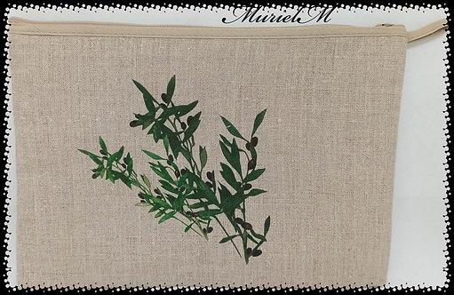trousse en brin d'olivier