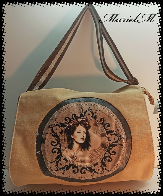 sac reporter femme vintage sac