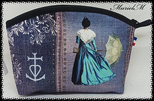 arlésienne bleu ombrelle