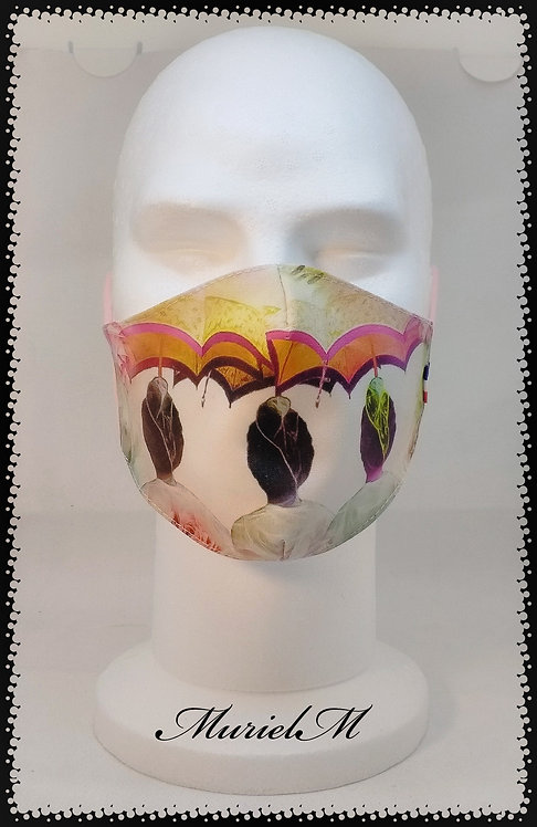 masque arlésienne ombrelle