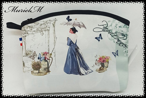 arlésienne papilloner bleu