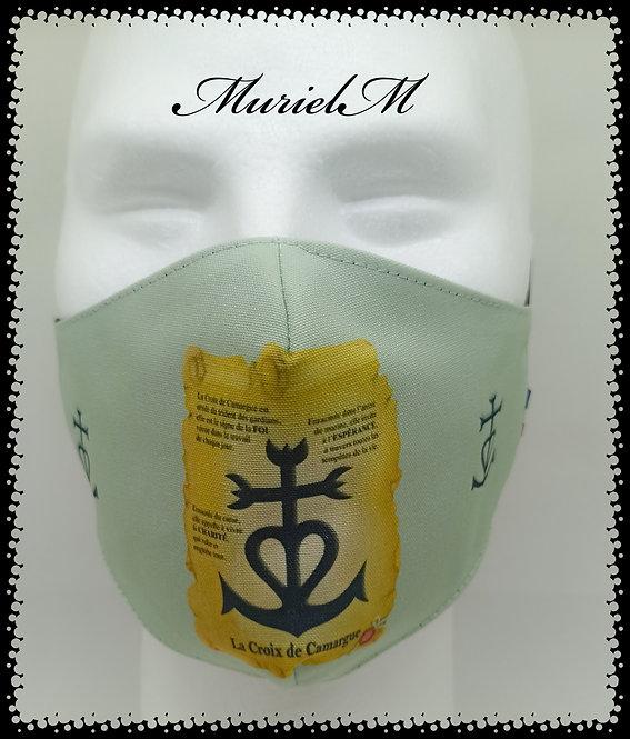Masque Croix de Camargue