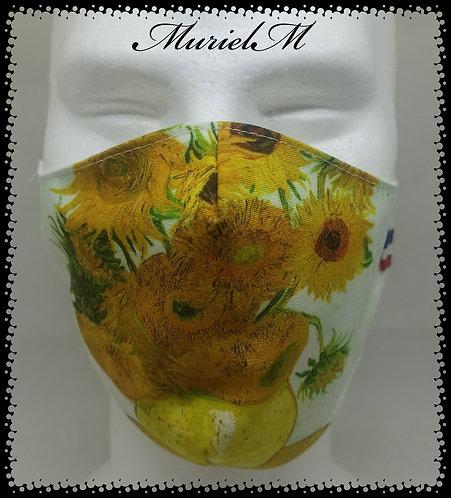 Masque Les Tournesols Van Gogh muriel-m