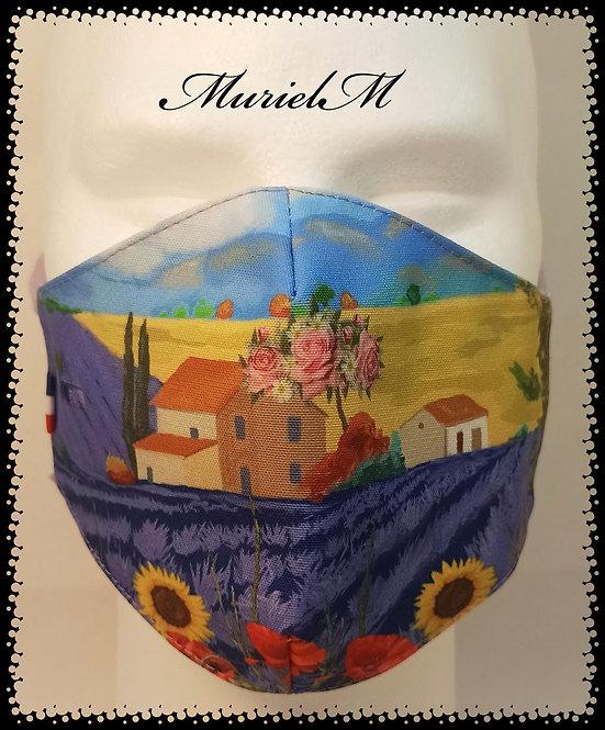 Masque Paysage Provençal