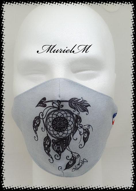 Masque Attrape Rêve Fond Jean