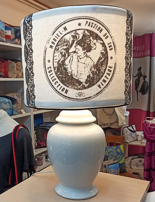 lampe arlésienne vintage Camargue muriel-m