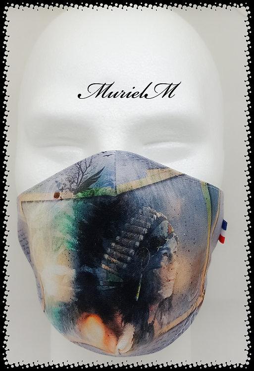 Masque Indien chamane