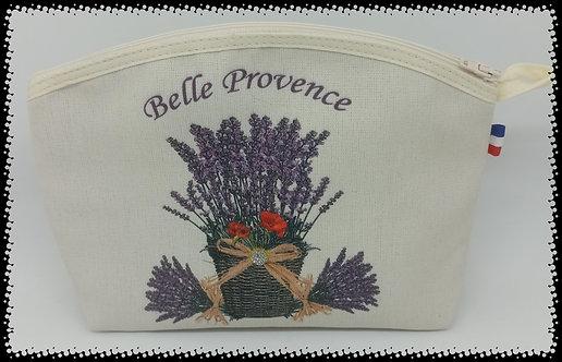trousse arrondie  lavande belle Provence muriel-m