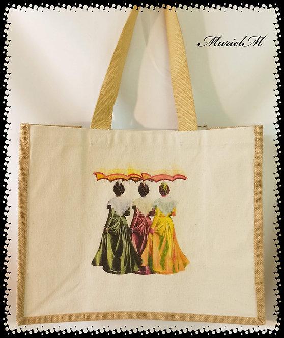 sac cabas arlésienne ombrelle