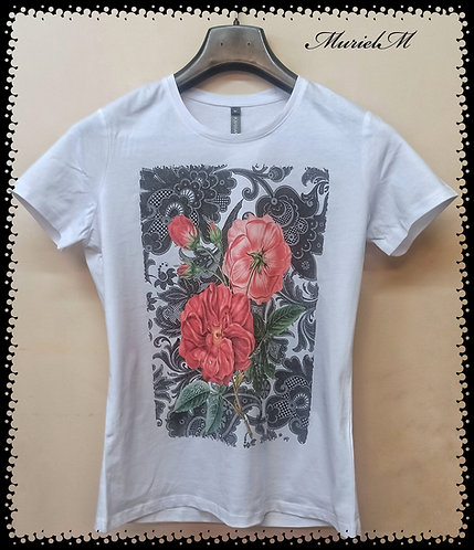 tee shirt rose esprit de Provence