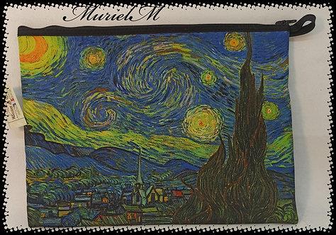 trousse  plate la nuit étoilée