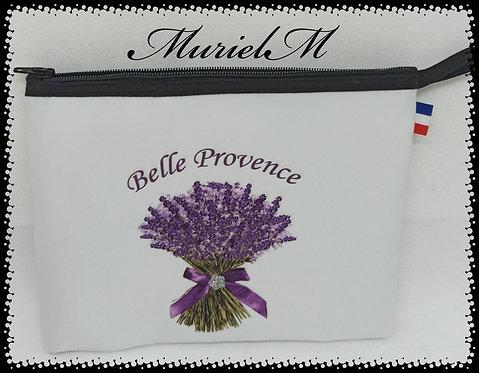 trousse plate bouquet de lavande belle Provence