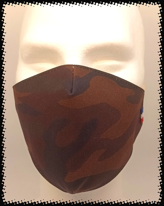 masque barrière camouflage