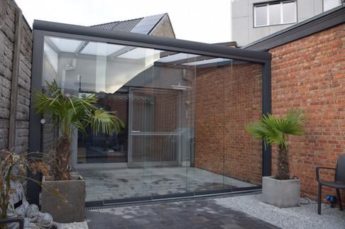 Polycarbonaat verandadak Zonwering-winke