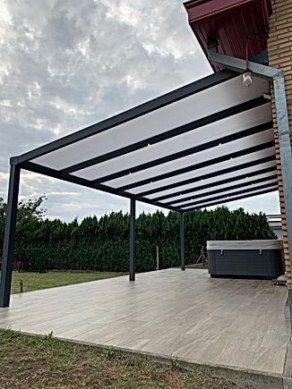 Polycarbonaat dak - zonwering-winkel