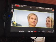 Britt Robertson & Tanya Christensen