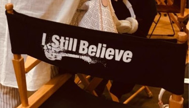 I Still Believe directors chair