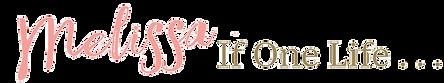 Melissa if one life book logo horizontal