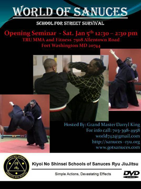 DVD: Hanshi Darryl King January Fort Washington Seminar