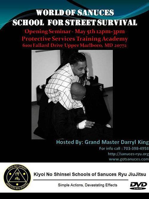 DVD: Hanshi Darryl King PTSAC Seminar