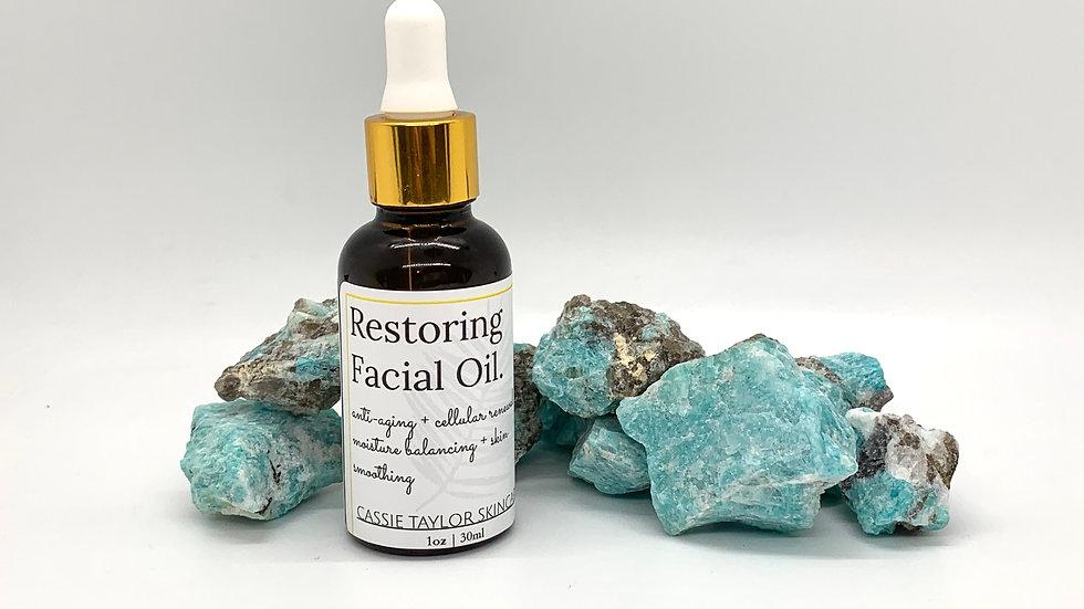 Restoring Facial Oil