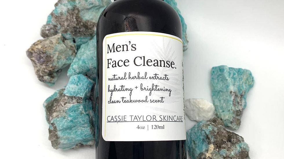 Men's Face Cleanse
