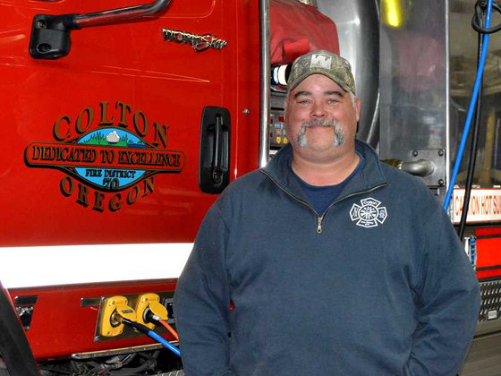 Lt. Doug Dolney named Firefighter of the Quarter